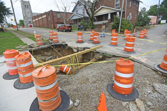 The city of Mansfield is spending up to $750,000 to install a bypass sewer line. The work is expected to close Bowman Street for an additional two months while work is completed.