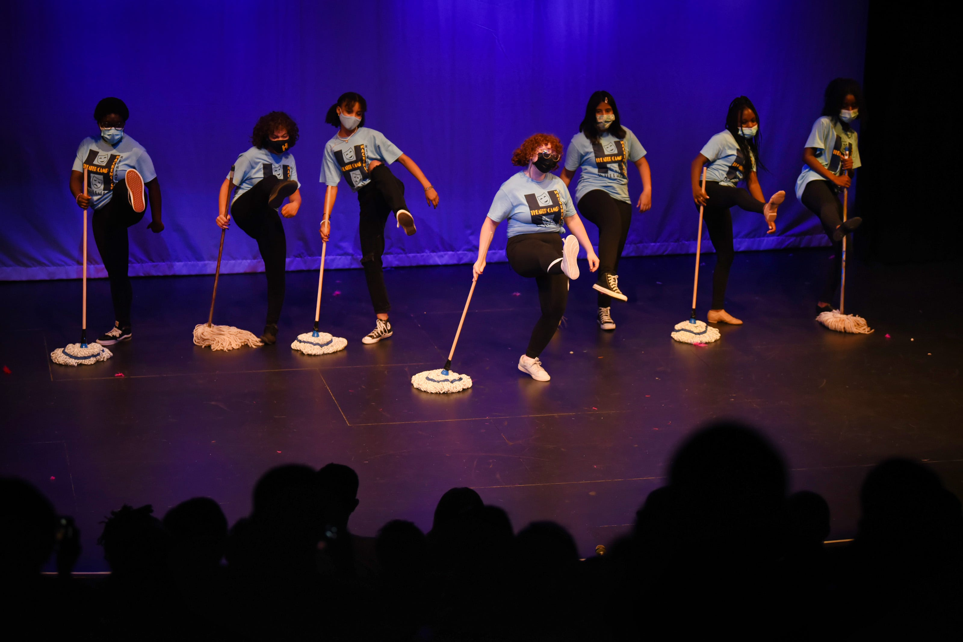 Members of Theater Camp 2021 present a selection of musical reviews directed by Gregory Liosi and hosted by HACPAC at the Hackensack Performing Arts Center on 08/05/21.