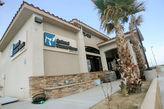 Animal Samaritans SPCA Veterinary Clinic, photographed April 5, 2010, is located in Thousand Palms, Calif.