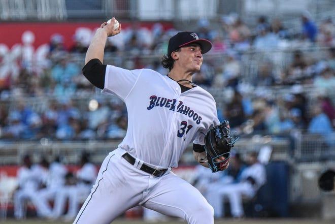 Jackson High School alum Kyle Nicolas pitches for the Double-A Pensacola Blue Wahoos.