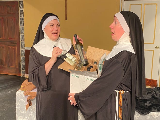 """Performances of """"Drinking Habits"""" at Richmond Civic Theatre continue Aug. 20-22, 2021."""