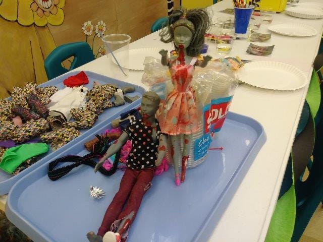 Don't toss those raggedy old dolls in the trash just yet. You can donate your playtime rejects to the Tom Green County Library System for its Zombie Doll program.
