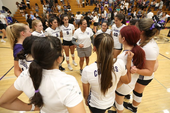 Franklin goes against El Paso High Tuesday, Aug. 17, 2021, at Franklin High School in El Paso.