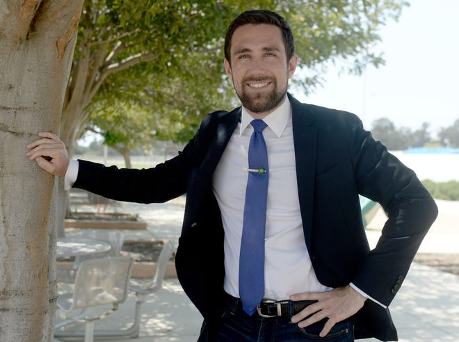Ventura resident Kevin Paffrath, a real estate broker and YouTube personality, is running in the statewide Sept. 14 recall election as one of nine Democratic candidates amid a field of 46.