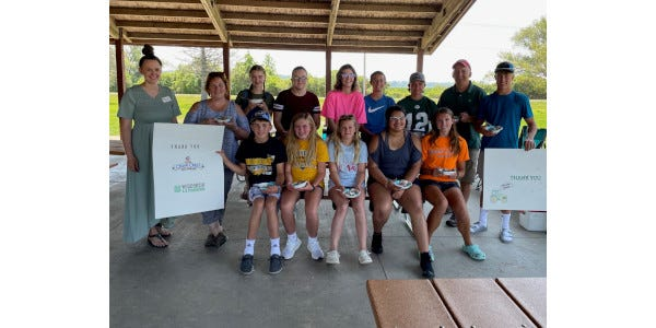 Country Clover 4-H Club in Green Lake County were the winners of the 2020 Cedar Crest Ice Cream naming contest. The Markesan club submitted the winning flavor Tractor Tracks, which features chocolate ice cream, peanut butter cups and a marshmallow swirl.