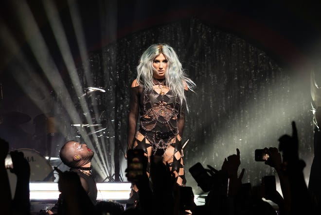 Kesha performs in concert at ACL Live on Aug. 18, 2021, in Austin.