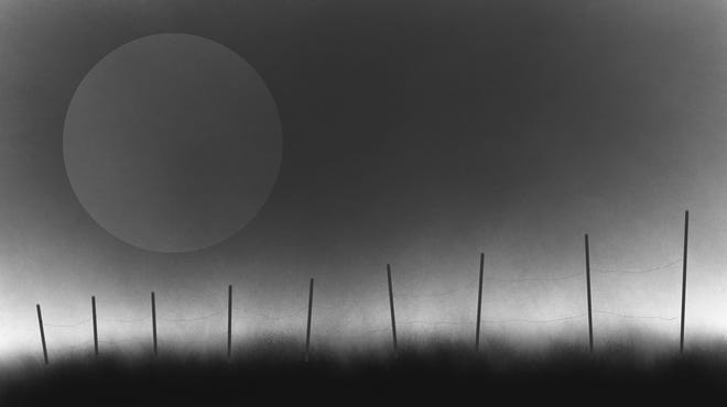 """""""Dust Bowl Landscape"""" by Marcus Melton will be a part of the annual Faculty Art Show at West Texas A&M University."""