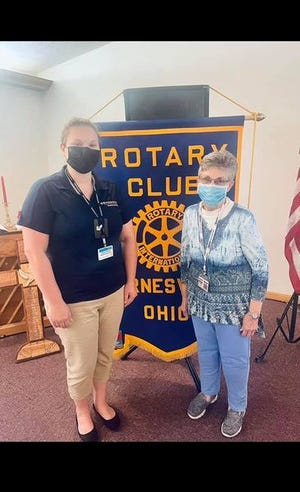 In August, Ruth Anderson, director of Volunteer Services at Barnesville Hospital, spoke to the Barnesville Rotary Club about the Meals on Wheels Program offered at the hospital. If you are interested in learning more about the program or would like to volunteer, contact Anderson at 740-425-5113.