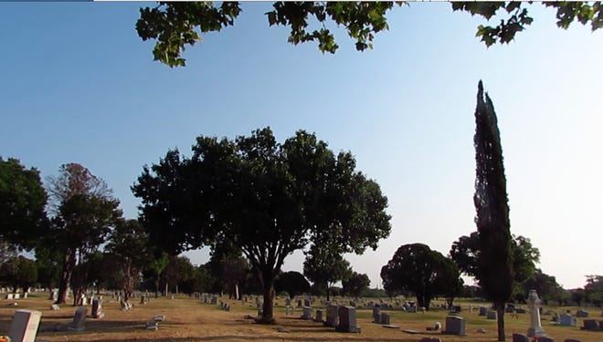 Greenleaf Cemetery, was established in 1858. The cemetery consists of more than 100 acres and contains more than 18,000 graves.