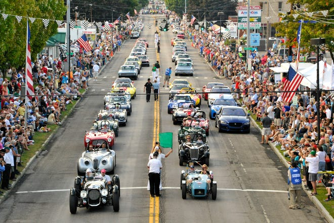 The Watkins Glen Grand Prix Festival celebrates the history of U.S. road racing after World War II, which began in Watkins Glen with street racing from 1948-1952. Once again, Franklin Street in the village will be closed from 12:30 to 8 p.m. Friday, Sept. 10 as Stone Bridge Drivers and Sportscar Vintage Racing Association race cars take laps of the original road course through and outside the village.