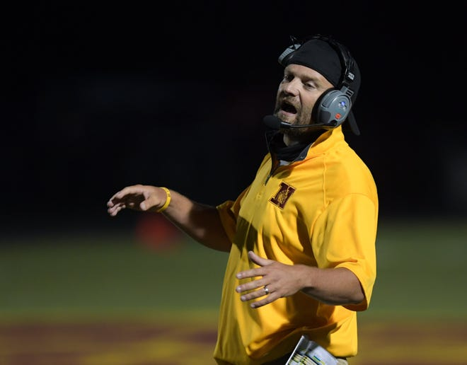 Westerville North coach Bryan Johnson is preparing his team to meet visiting Westerville Central in the season opener Aug. 20.