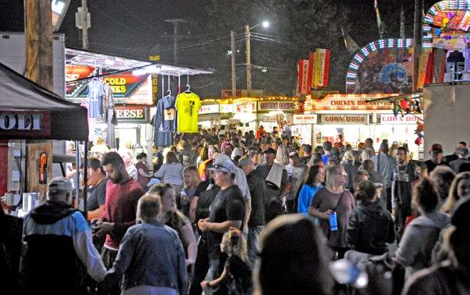 General admission to the fairgrounds for the 2021 Wayne County Fair is $4. Children 6 years old and younger are admitted for free.