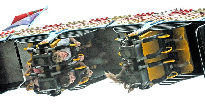 Some of the rides at the fair can leave you feeling upside down.