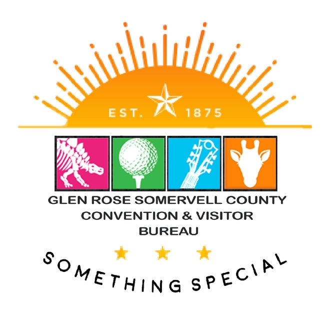 The new logo for the Glen Rose Somervell County Convention & Visitor Bureau.