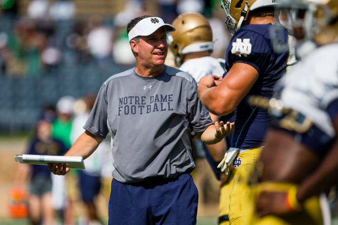 Notre Dame tight ends coach John McNulty gained a verbal commitment from four-star tight end Cooper Flanagan, a 2023 recruit, on Thursday.