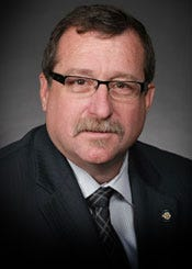 Rep. Mark McBride, a Republican, serves District 53 in the Oklahoma House of Representatives, which includes parts of Moore, Norman and Oklahoma City.
