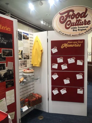The Little Traverse Historical Museum's new Food Culture exhibit explores the history of local food industries, restaurants, and recipes.