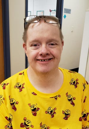 Forrest Petty of Galva was recognized as Achiever of the Month for July at Abilities Plus.  Forrest was nominated because of his great sense of humor, and progress working on his sign language goal.  In his spare time Forrest loves music, dancing and drawing.  Congratulations, Forrest!