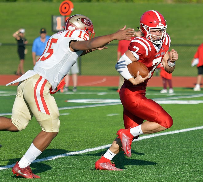 St. John's and Everett last met on Sept. 20, 2019, in Shrewsbury. This year, they'll meet on Thanksgiving in Everett.