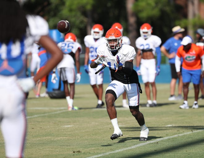 """Tre'Vez Johnson is next in line to start at Florida's """"Star"""" position on defense."""