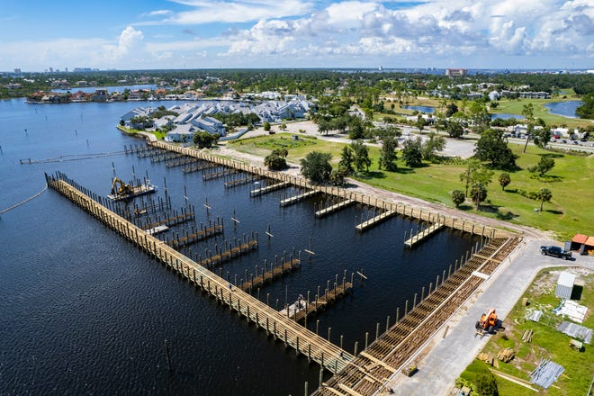 The proposed site for a new luxury condo project in Bay Point rests between the Bay Point Golf Club and the new Bay Point Marina currently under construction.