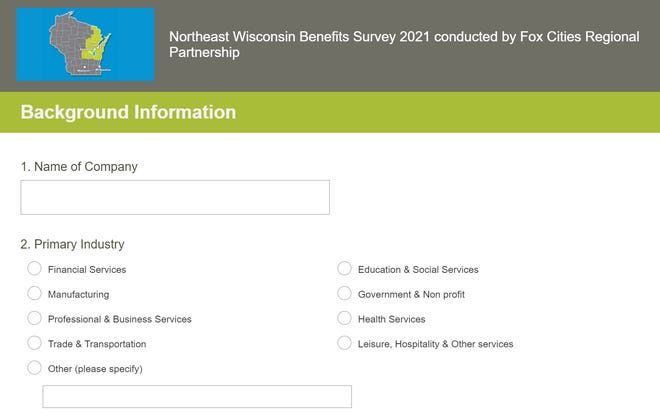 The Fox Cities Chamber of Commerce is looking for more businesses to fill out its Northeast Wisconsin Benefits Survey.