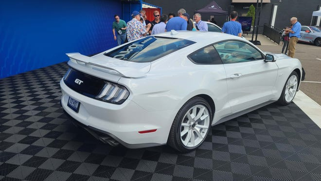 2022 Ford Mustang Coupe Ice White Edition