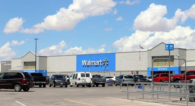 The Deming Walmart Supercenter at 1021 E. Pine St.