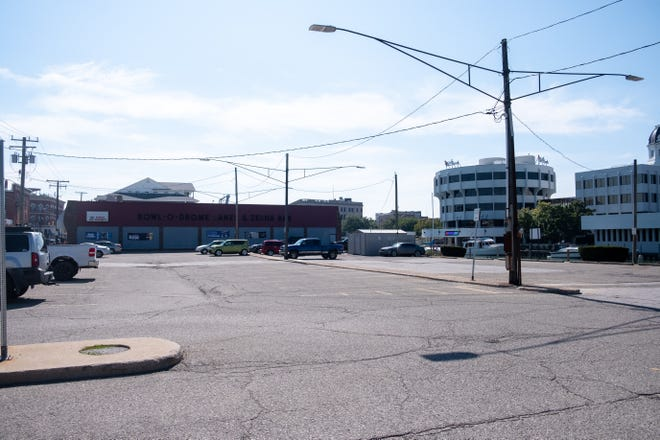 The city has an agreement with DTE Energy to clean up century-old contaminants from the ground and reconstruct part of the West Quay Street lot.