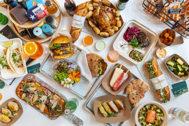 The options at the newly reopened Fareground will include flavors from China, Israeli, Mexico and more.