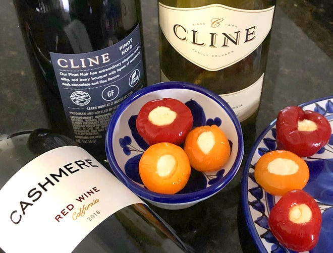 Cline's Cashmere red blend, Pinot Noir and Viognier are all gluten free and vegan wines.