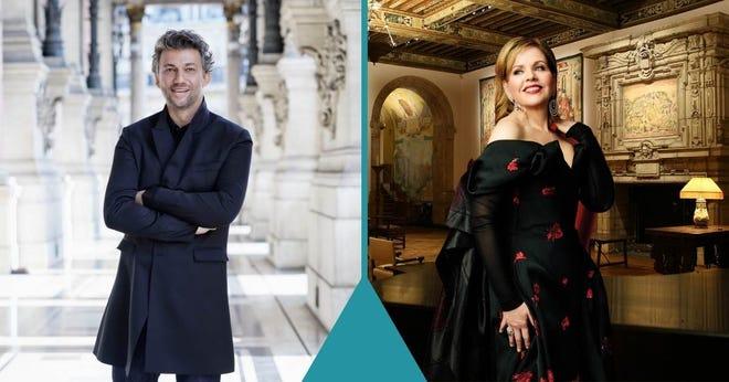 The Metropolitan Opera's biggest stars, Jonas Kaufmann & Renée Fleming, perform in solo concerts airing Saturday, August 28th.