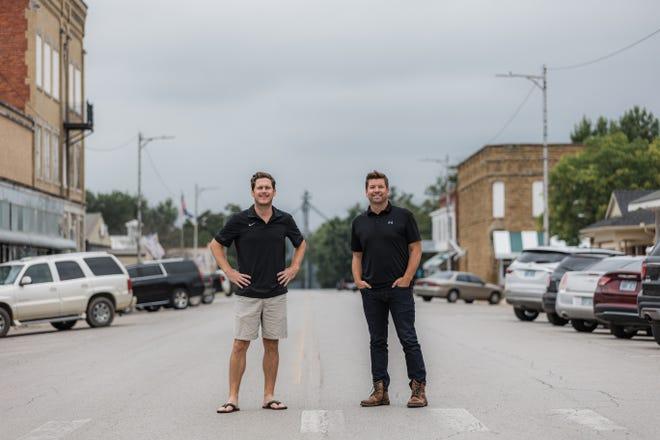 Josh Hockett, left, and Jared Daniels.