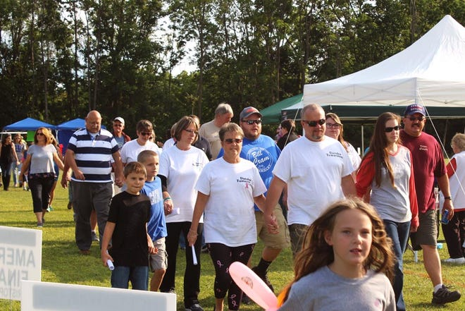 The Hope Walk event brings the community together each August to raise funds to help cancer patients and their families cope with treatment.