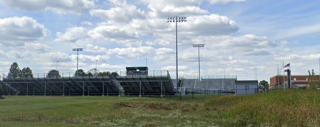 Westerville Central High School football field