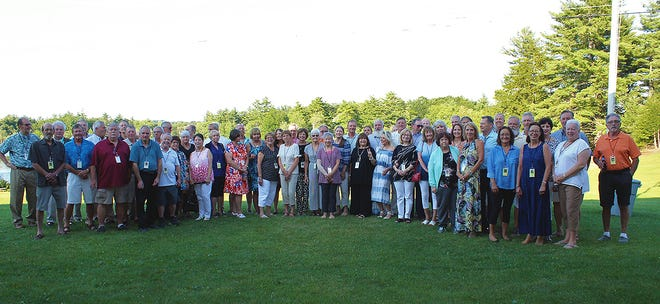The Gardner High School Class of 1970 recently held their 50th class reunion at the Polish American Citizens Club in Gardner. The well-attended event was enjoyed by all.