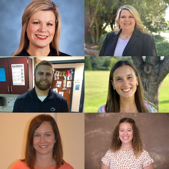 Kelli Hardigree, Heather Poore, Chase Moyer, Jenna Brock, Jami Guker, and Marissa Drake