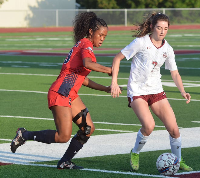 Bethel junior Katy Ponce scored a goal in a 2-0 win over Oklahoma Panhandle State. Ponce was named to the All-KCAC pre-season team.