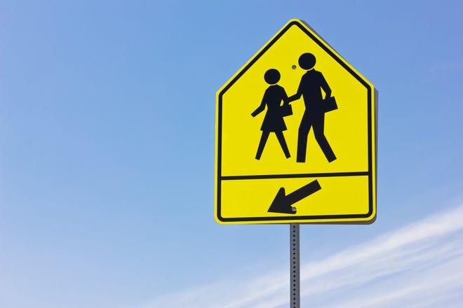 School crosswalk.