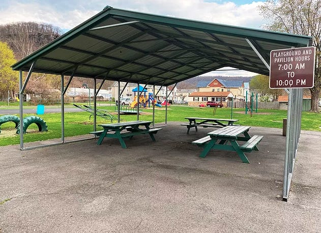 The North End Park is one of the City of Keyser's parks that has recently been hit by vandalism.