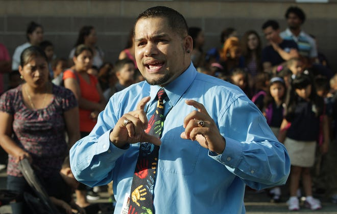 """""""These new initiatives to recruit highly-qualified educators demonstrate our commitment to providing a world-class education for all students,""""Acting Superintendent Javier Montañez said of the new pay incentives."""