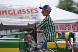 The highlight of Youth in Agriculture Day is the annual Sale of Champions at 1:30 p.m. in the Lowell Mohler Assembly Hall.