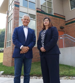 Outgoing Coleman Health Services President and Chief Executive Officer Nelson Burns and incoming President and CEO Hattie Tracy look forward to bringing more services to the community in the coming year.