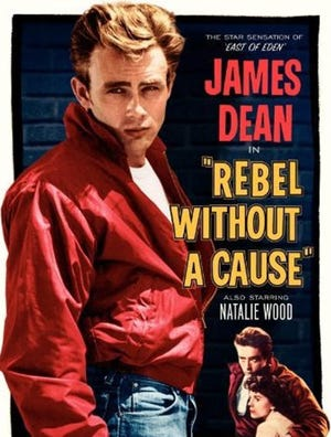 """""""Rebel Without a Cause"""" will be shown at 7:30 p.m. Saturday at the Canton Palace Theatre as part of a Classic Movie Weekend."""
