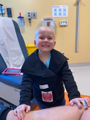 Kinsley Streyle, now 5, has been battling leukemia since March of 2020, when she was just 3 years old. Her family initially thought she may have COVID-19, but tests revealed cancer. Kinsley is currently in the maintenance phase of her treatment.