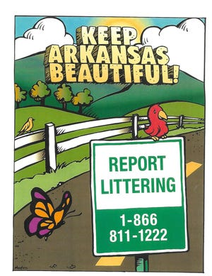 Keep Van Buren Beautiful is urging citizens to utilize the litter hotline to report anyone they see littering.