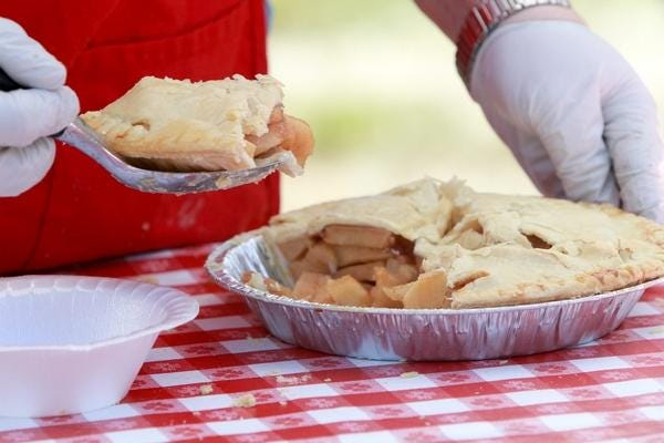 Of course, there will be apple pie!