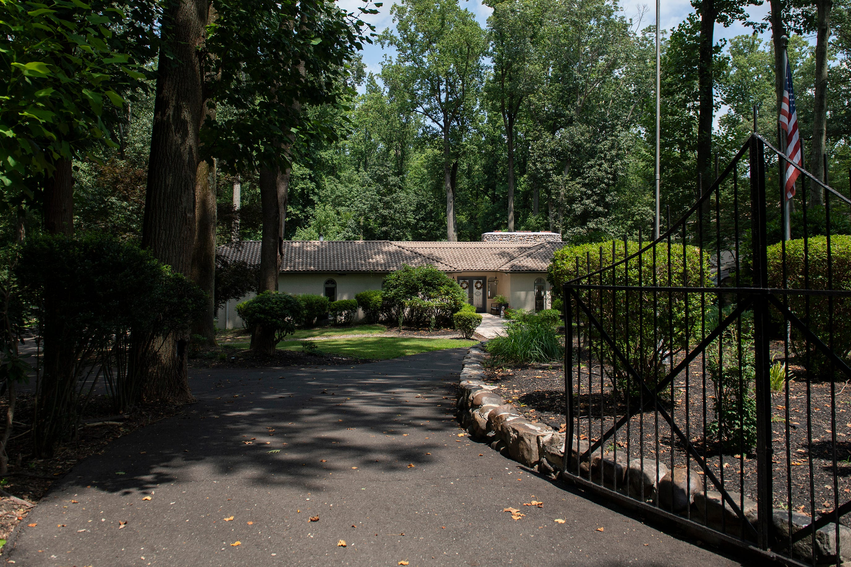 Muhammad Ali's former home in Cherry Hill, N.J.