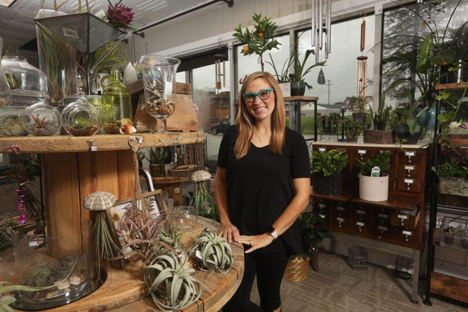 Haley Jeffries owns Haley's Floral Studios in Coshocton.