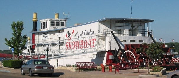 Experience a show at Clinton's riverboat theater, where professional stagecraft comes to life all summer.